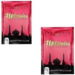 Kit 2 - melzinho árabe do prazer mel estimulante natural feminino 5g