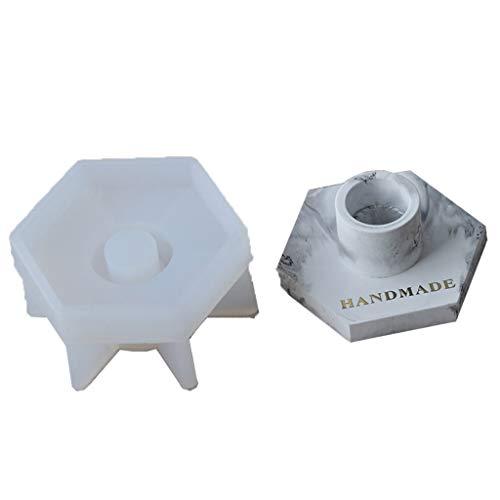 Yunnan Kerzenständer-Formen Beton Zement Kerzenhalter Epoxidharz Formen Silikonform Schmuckherstellung DIY Handwerk Kunst Dekorationen