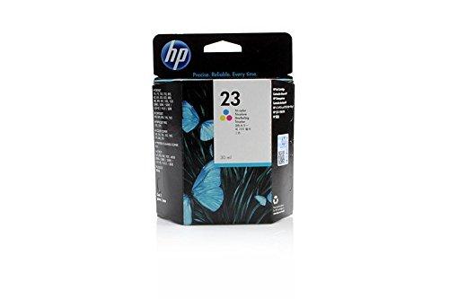 Original de tinta compatible con HP Color Copier 160HP 23, NO23C1823DE, c1823deabb, c1823deabd–PREMIUM Impresora de tinta–Cian, Magenta, Amarillo–690páginas–30ml