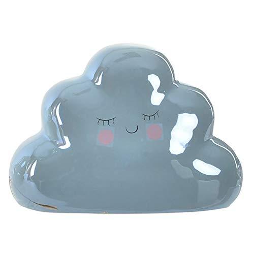 Hucha con Forma de Nube Feliz