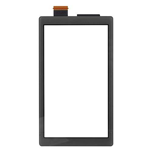 ASHATA Pièces de Rechange Accessoires Ensembles Affichage de l'écran Manette de Jeu Gamepad, ABS de Haute qualité à écran Tactile Accessoire d'équipement de Machine pour Switch Lite(Noir)