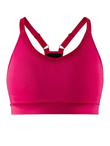Craft Damen Motion Sport-BH-Pink, Silber Unterwäsche, XS