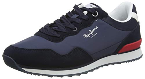 Pepe Jeans London Cross 4 Urban, Zapatillas Hombre, 595navy, 44 EU