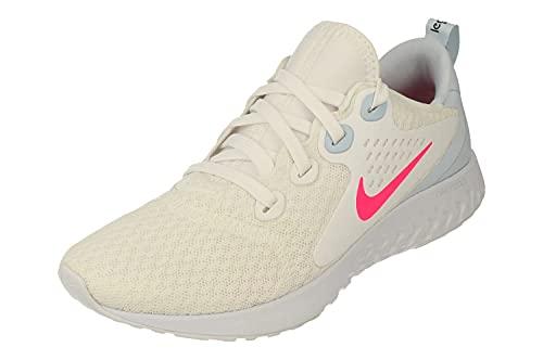 Nike Womens Legend React Running Trainers AA1626 Sneakers Shoes (UK 6.5 US 9 EU 40.5, White Hyper Pink Half Blue 102)