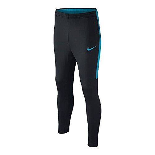 NIKE Dry Academy Kpz - Pantalones de chándal para niño, Unisex niños, Pantalones Deportivos, 839365-020, Lt Blue Fury/Black, Large