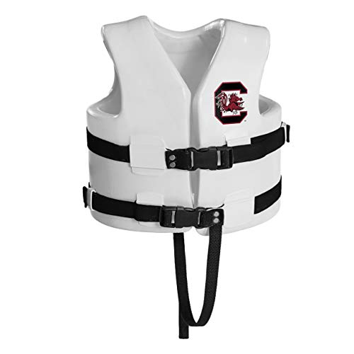 Why Should You Buy Texas Rec 23 White NCAA South Carolina Child's Xtra Small Life Vest