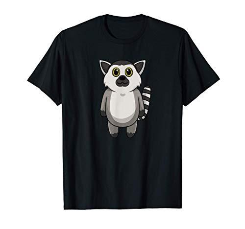 Lindo bebé lémur mono Camiseta