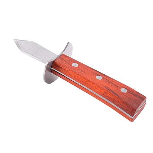 Cabilock Cuchillo de Ostras Shucker Cuchillo de Almeja Shucker de Acero Inoxidable...