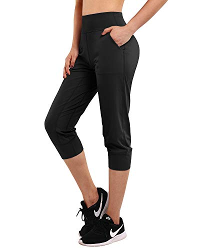 Promover Womens Yoga Joggers with Pockets Workout Running Joggers Pants Active Yoga...