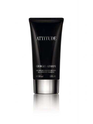 Giorgio Armani Attitude homme / men, Duschgel 150 ml, 1er Pack (1 x 150 ml)