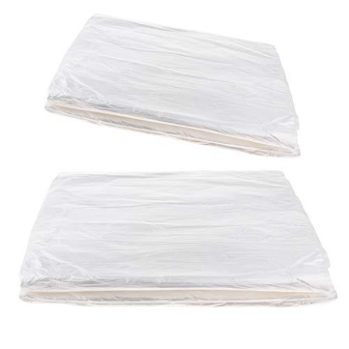 FLAMEER 360x Bad Becken Tasche Plastiktüte, Fuß Spa Fußpflege Pediküre Sanitär Tasche