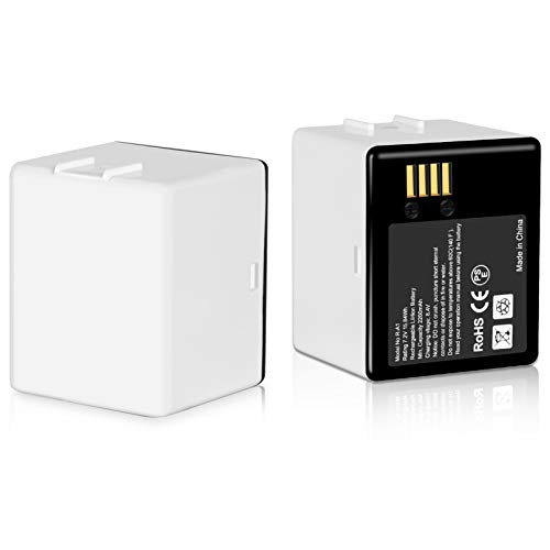 Batteries (2-Pack) Compatible with Arlo Pro, Arlo Pro 2 / Rechargeable 7.2V Upgraded Lithium Li-ion Batteries Pack
