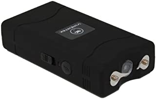 VIPERTEK VTS-880-30 Billion Mini Stun Gun - Rechargeable with LED Flashlight, Black