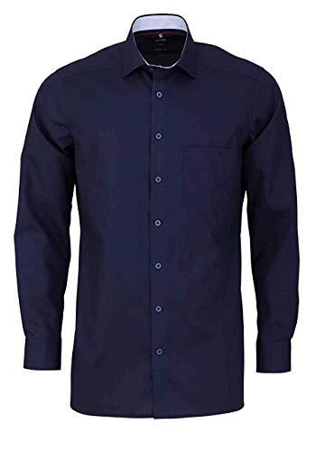 OLYMP Luxor modern fit Hemd extra Langer Arm Haifischkragen Nachtblau Größe 48