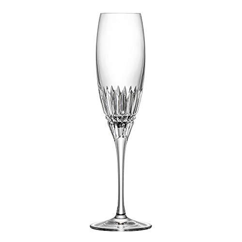ARNSTADT KRISTALL Sektglas Champagneglas Empire hell (25cm) Kristallglas mundgeblasen · von Hand geschliffen · Handmade in Germany