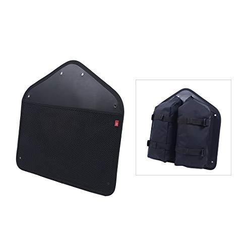 FAHRER Unisex– Erwachsene Panel Fahrradtasche, Schwarz, Einheitsgröße