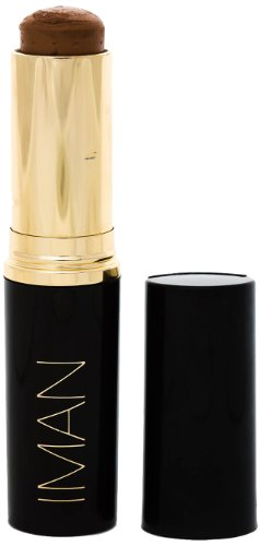 IMAN Cosmetics Second To None Stick Foundation, Dark Skin, Earth 5