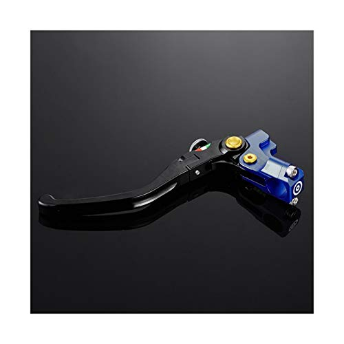 Motocicleta Cilindro Maestro de Freno de Motocicleta CNC 19RCS de 7/8'22mm + Mango de Palanca de Embrague de Cable Universal para Y&amaha para H&Onda Embrague (Color : S)