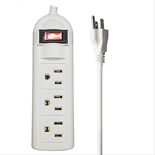 ATNEETClavijas Enchufe Ac Regleta de alimentación eléctrica con salidas de interruptorCable deenchufe...
