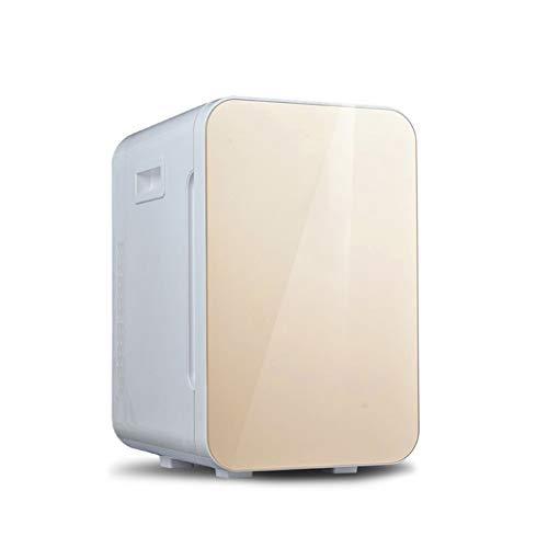 Mini-koelkast 25 liter, kleine huishoudelijke koelkast, comfortabel, met gebruik van de kleine koelkast, 50 x 37,2 x 30,9 cm te dragen goud