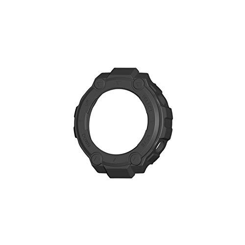 NOWON Para Amazfit-T Rex- Estuche de Reloj Cubierta Protectora Suave Shell Protector de Marco de Parachoques