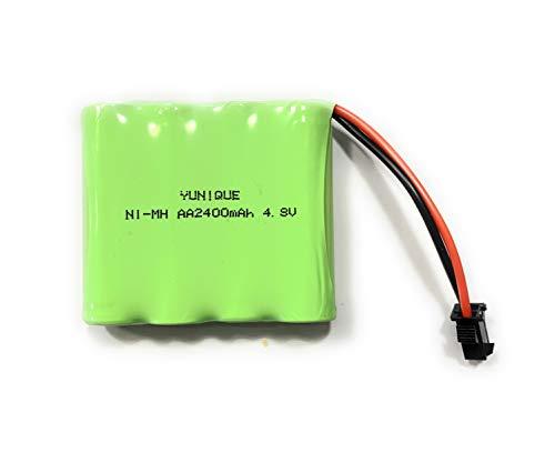 YUNIQUE ESPANA 1 batería recargable 4,8 V Ni-MH 2400 mAh para control remoto del coche