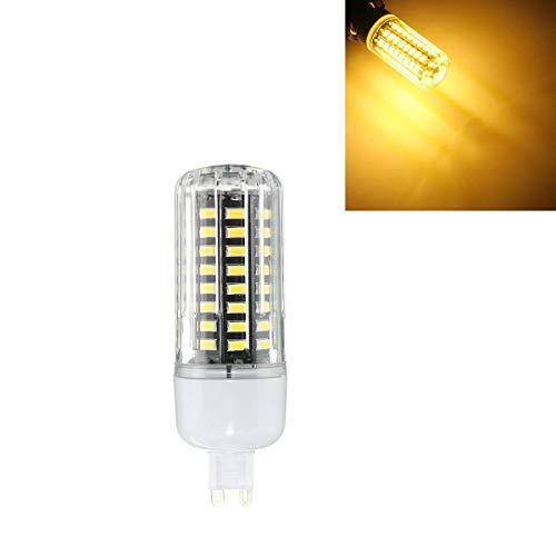 WULE-RYP G9 7W 72 SMD 5730 LED Warm White Natural White Cover Ceren Bulb AC85-265 (Color : Warm White G9)