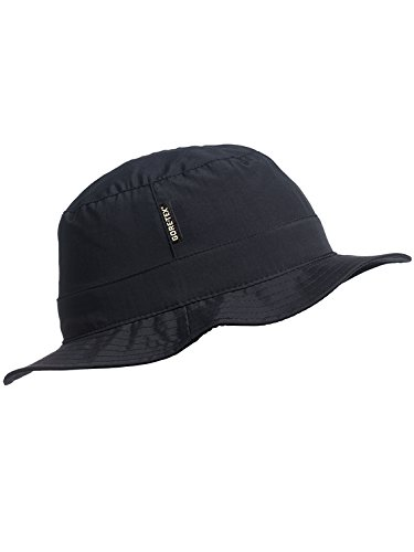 Stöhr Erwachsene Gore-TEX Hat Hut, schwarz, L/XL