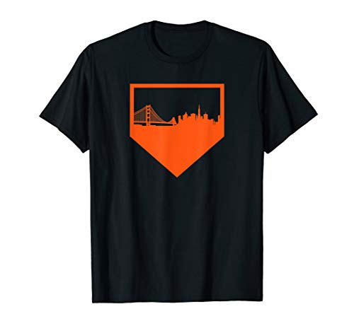San Francisco Baseball Vintage SF Pride The City Gift T-Shirt
