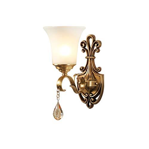 Wandlamp Europea all Il Rame, 7 W LED Tricolore wandlamp bedlampje Corridoio plafondlamp wandlamp