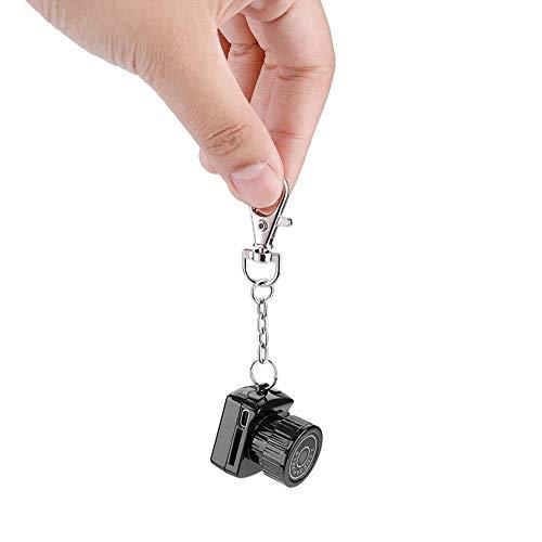 Yunir Micro cámara Digital, Fotos y Videos de Alta definición 3-5 m Mini videograbadora infrarroja con Soporte para visión Nocturna Tarjeta TF de 32 GB, para Interiores, Exteriores y oficinas