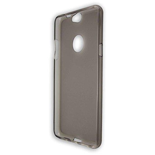 caseroxx TPU-Hülle für Coolpad Max, Tasche (TPU-Hülle in schwarz-transparent)