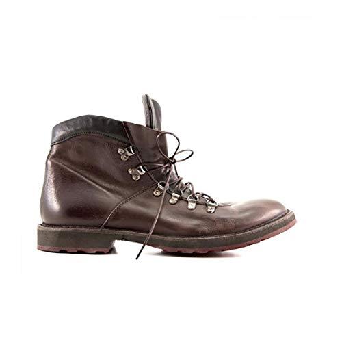 MOMA luxe mode heren 2CW071CULUEBANO bruin laarzen | herfst winter 19