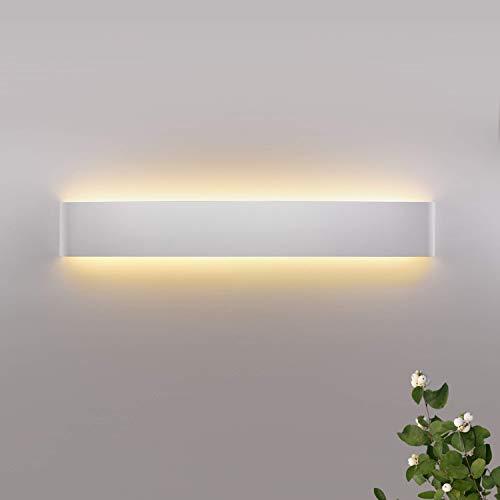 Wowatt Aplique 20W Lámpara de Pared Blanco Cálido 2800k AC 220V 1600LM para Salon Dormitorio Sala Pasillo Escalera