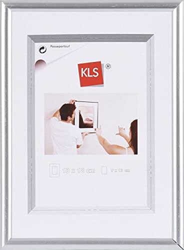 KLS Kunststof fotolijst 40x60 cm zilver serie 42