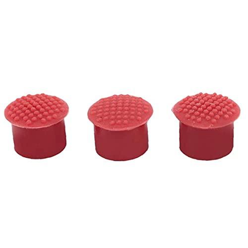 Reemplazo Portátil Punto de Pista Durable Silicone Point Point Point Durable Computer Stick Nipple Compatible para IBM/Lenovo ThinkPad Red 3pcs Computer ACTESORIOS PERIPHERALES