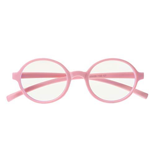 VALICLUD Stylish Kids Blue Light Blocking Brillen Silikone Brillen Anti Blue Light Eyeglass