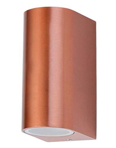 Rabalux 8100 Chile, Außenwandleuchte up&down, Kupferfarbig