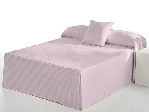 Camatex - Edredón Raya Cama 105 - Color Rosa