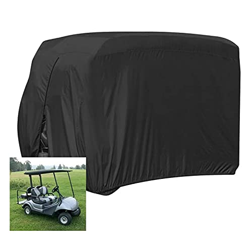 Mr.LQ Protezione Antipolvere Impermeabile per Carrello da Golf per 2 Passeggeri Adatta per Carrelli da Golf per Auto Ez Go Club