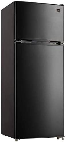 RCA RFR741 BLACK Apartment Size Large Compact Refrigerator 7 5 Black product image