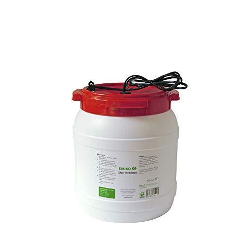 EMa-Fermenter 15 Liter, zum Herstellen von EMa inkl. Tauchwärmer