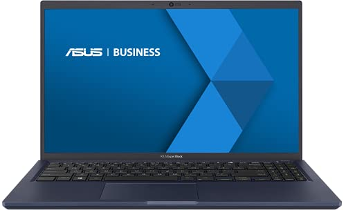 ASUS EXPERTBOOK B1500CENT-BQ1659R PC Portable 15 FHD (i7-1165G7, RAM 16Go, 512Go SSD NVMe, Windows 10Pro) Clavier AZERTY Français