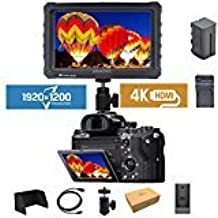 """LILLIPUT BLACK A7S 7"""" 1920x1200 IPS Screen Camera Field Monitor 4K HDMI Input output Video For DSLR Mirrorless Camera SONY..."""