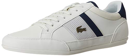 Lacoste Herren Chaymon 120 4 CMA Sneaker, Off Wht/NVY, 42 EU