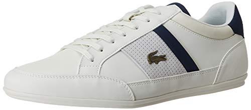 Lacoste Herren Chaymon 120 4 CMA Sneaker, White, 43 EU