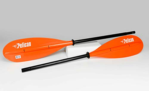 Pelican Boats - 2-Piece Heavy-Duty Aluminum Kayak Paddle - Extra Tough...