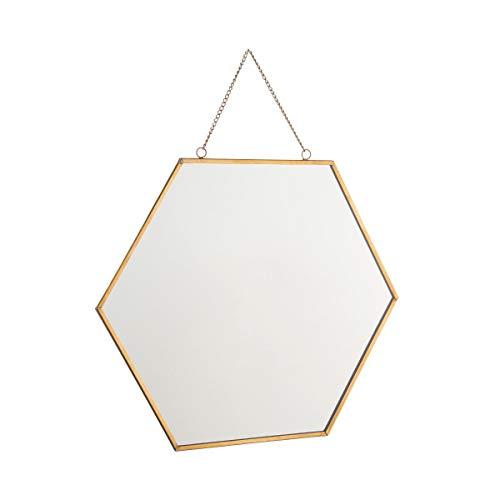 Butlers Carat Spiegel Hexagon L 24 x B 28cm