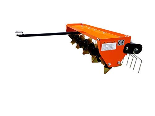 Rasenbelüfter Vertikutierer Rasentraktor 115CM Multigerät