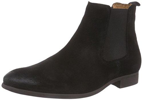 NOBRAND Herren Jukebox Chelsea Boots, Schwarz (Black), 44